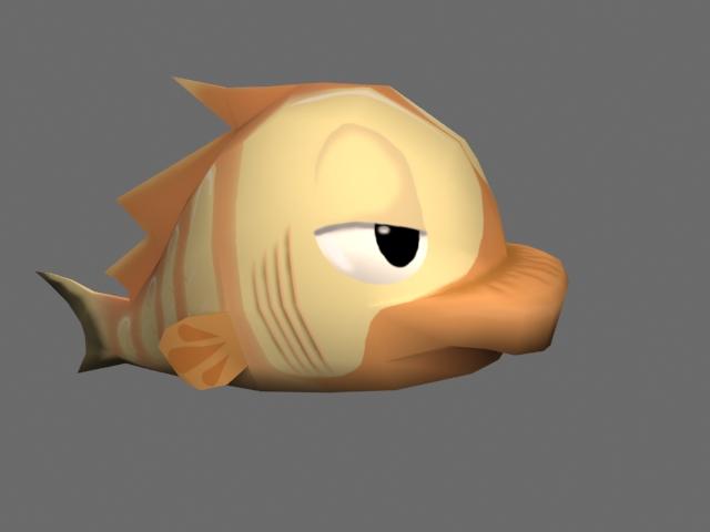 Fish - brown