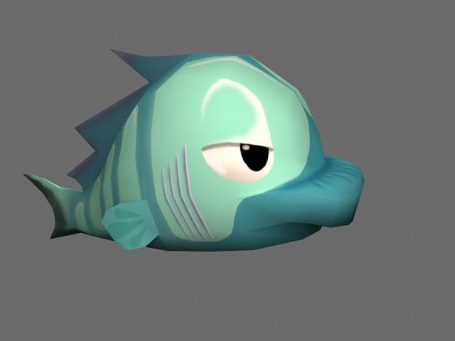 Fish - green